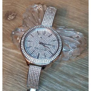 Michael Kors MK3250 Crystal Pave Statement Watch